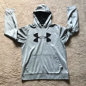 Under Armour Gray SM Sweatshirt/Hoodie